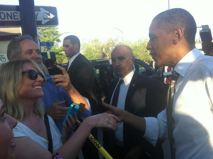 President Obama Visits CU & the Hill