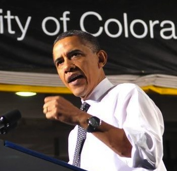 President Obama Visits CU on Sunday for Campaign Appearance