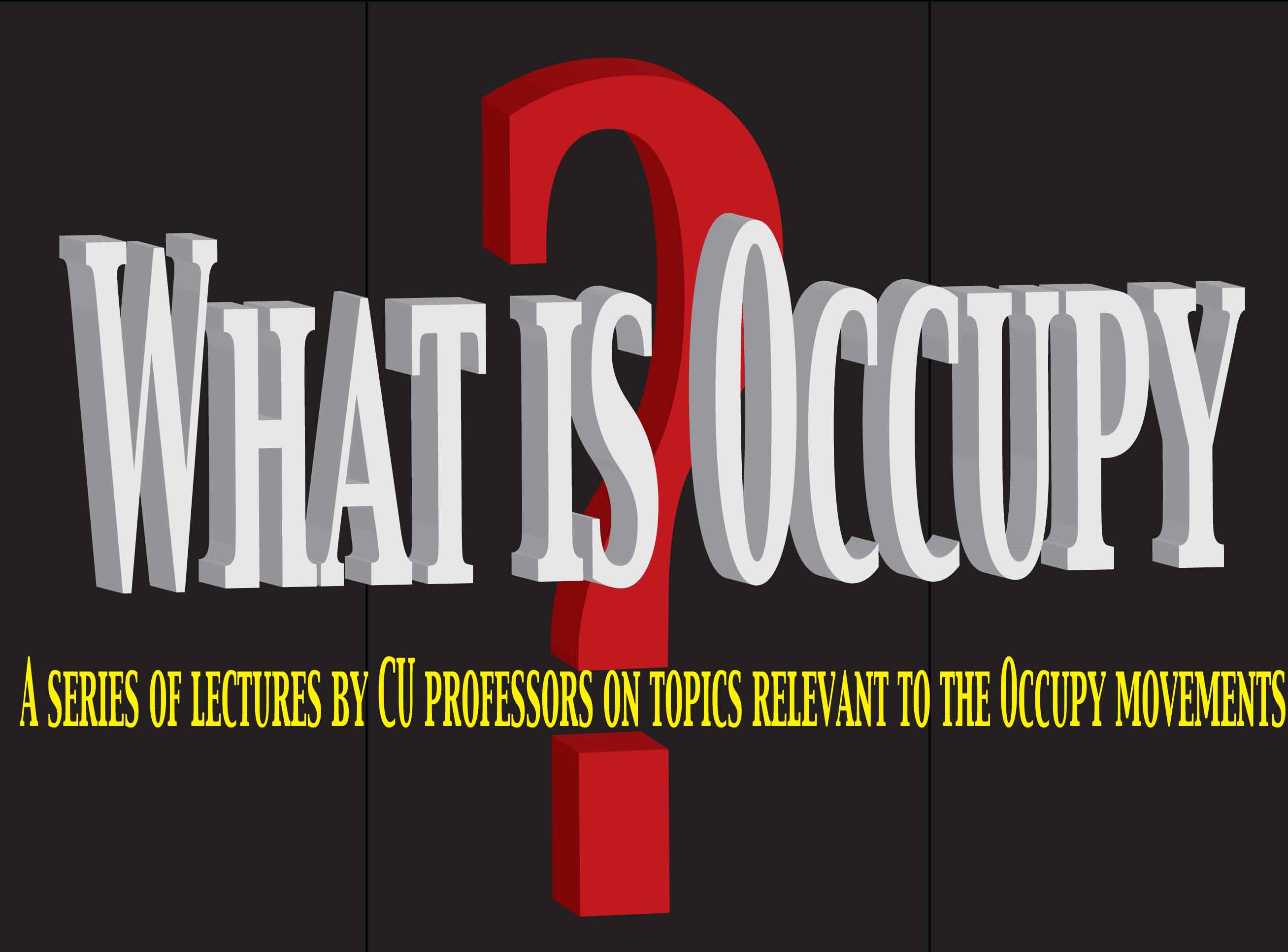 What�s To Be Learned from Occupy Wall Street?