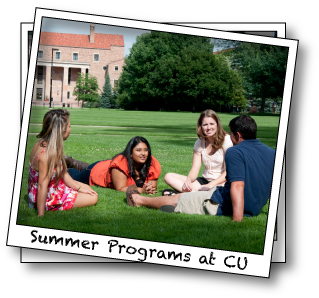 Summer Programs At CU